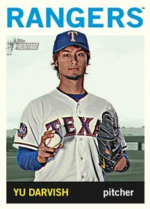 2013 Topps Heritage Yu Darvish Base Card