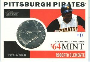 2013 Topps Heritage '64 Mint Roberto Clemente