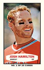 2014 Topps Heritage Bazooka Josh Hamilton