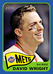 2014 Topps Heritage Blue Border David Wright