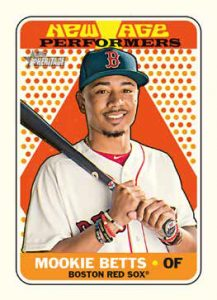 2018 Topps Heritage New Age Performers Mookie Betts