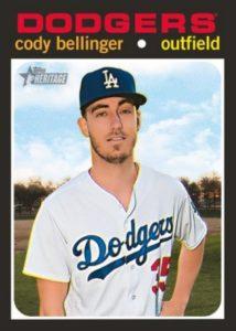 2020 Topps Heritage Cody Bellinger Base Card