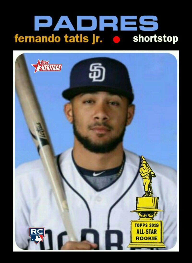 2020 Topps Heritage Fernando Tatis Jr Rookie Card