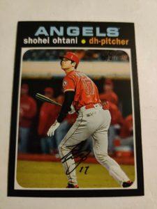 2020 Topps Heritage Shohei Ohtani